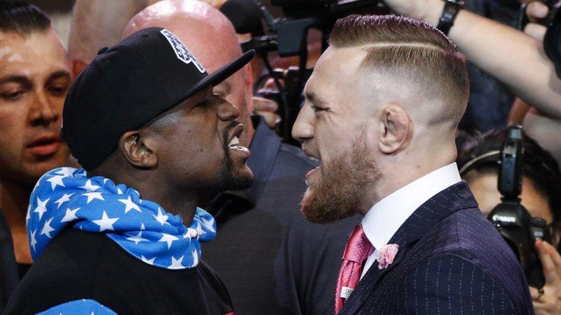 Boxe: Floyd Mayweather traite son adversaire Conor McGregor de lâche