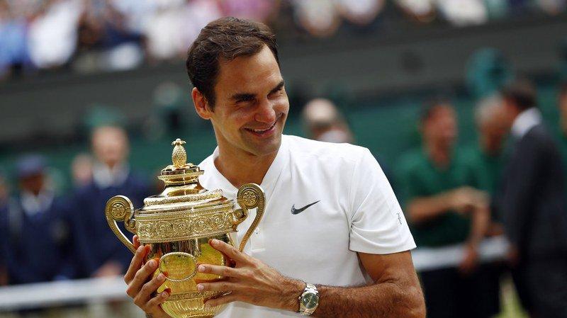Roger Federer s'impose face à Marin Cilic en finale de Wimbledon