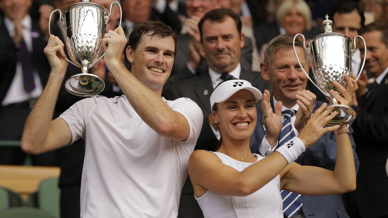 Wimbledon: Martina Hingis et Jamie Murray remportent la finale du double mixte