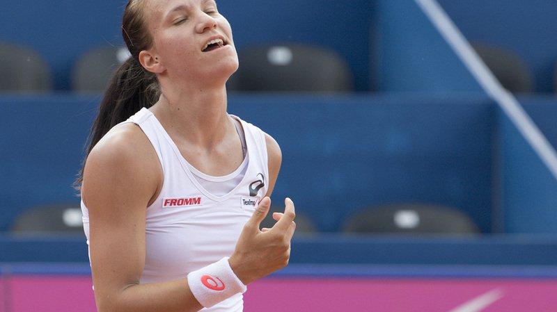 Tennis: tenante du titre, Viktorija Golubic est éliminée dès le 1er tour du tournoi de Gstaad