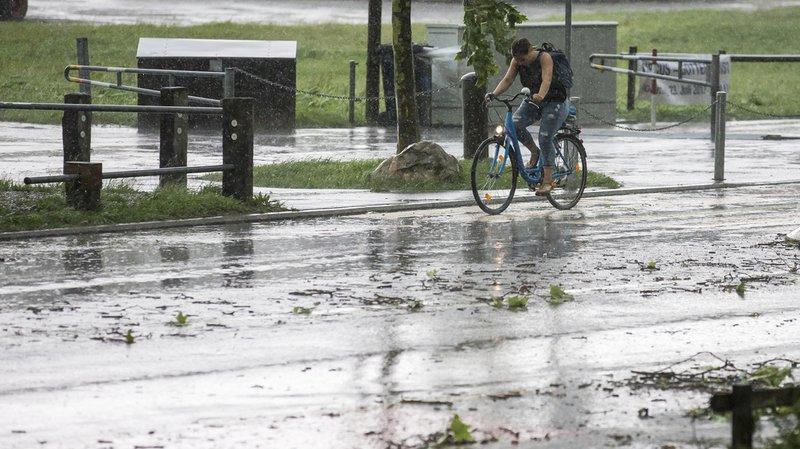 Intempéries: les orages de grêle ont généré quelque 2,5 millions de francs de dégâts