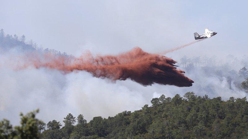 Incendies au sud de la France: trois personnes en garde à vue