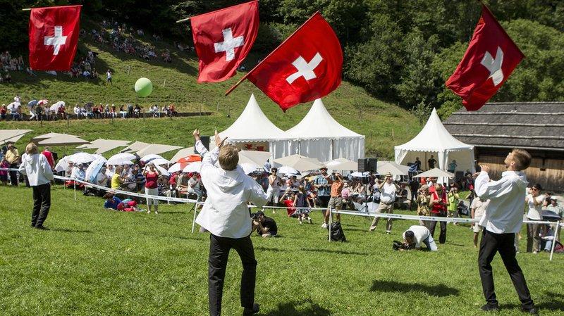 La fête s'est déroulée sans incidents, a annoncé la police cantonale uranaise. A nouveau, seules les personnes qui s'étaient inscrites ont pu rejoindre la prairie du Grütli.