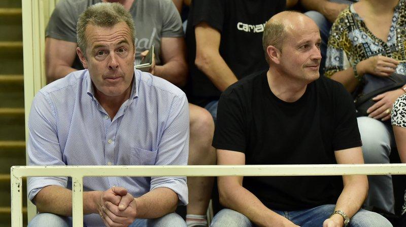 Christophe Grau, à gauche, écope de 120 jours de suspension.