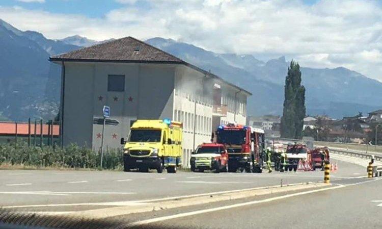 Le début d'incendie dans les combles du centre de formation a nécessité l'intervention du CSI des Deux Rives.