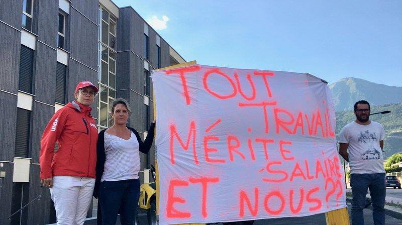 Une société manifeste à Martigny et réclame un demi-million à Ecobois