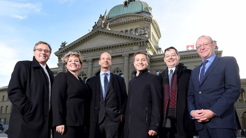Une partie de la députation valaisanne à Berne, lors du premier jour de session du début de la législature.