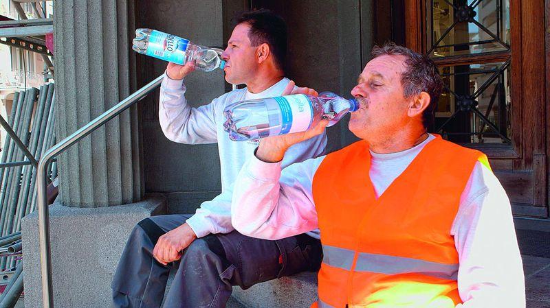 Canicule: augmentation du nombre d'accidents de travail