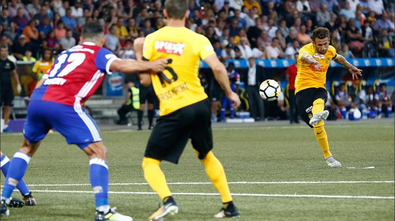 Football: victoire 2-0 de Young Boys face à Bâle en Super League