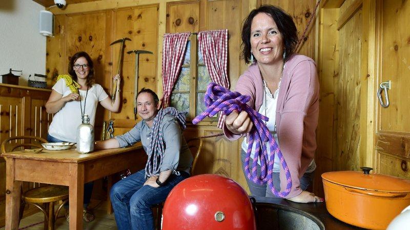Grimentz: une nouvelle Escape Room aménagée en refuge de montagne