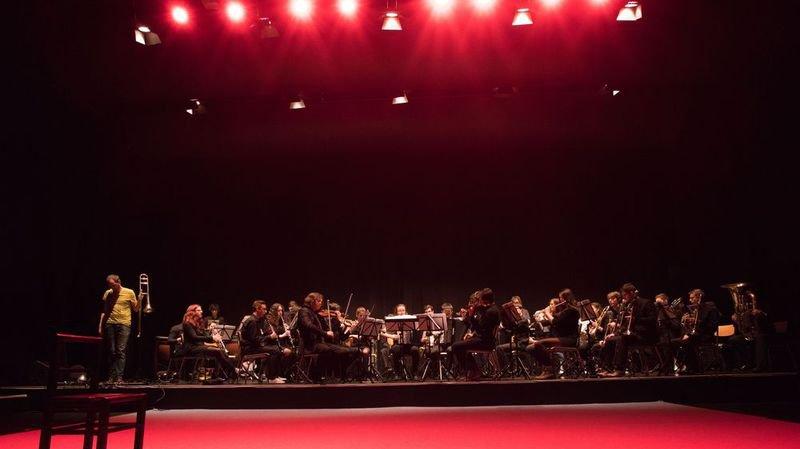 La Fanfaribole avec Ibrahim Maalouf sur la scène du Stravinski