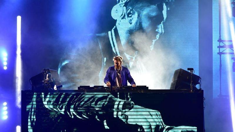 David Guetta: un gros coup de tonnerre sur Tourbillon lors de la conclusion, dimanche soir, de Sion sous les étoiles.