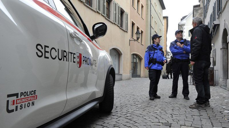 Les deux polices municipales de Sion et de Sierre fusionneront sous le nom de la police régionale du Valais central.