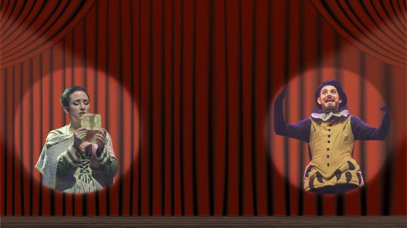 Christelle Riesle et Baptiste Udriot ont décroché des rôles principaux dans la comédie qui sera jouée aux Folies Bergère en novembre 2017.