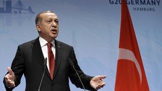 G20 de Hambourg: Erdogan menace de ne pas ratifier l'accord de Paris