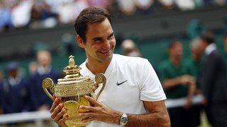 Roger Federer est toujours plus vert