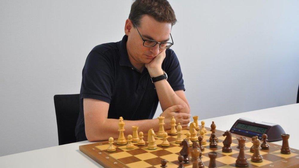 Frank Salzgeber en pleine préparation de «son» Open de Martigny.