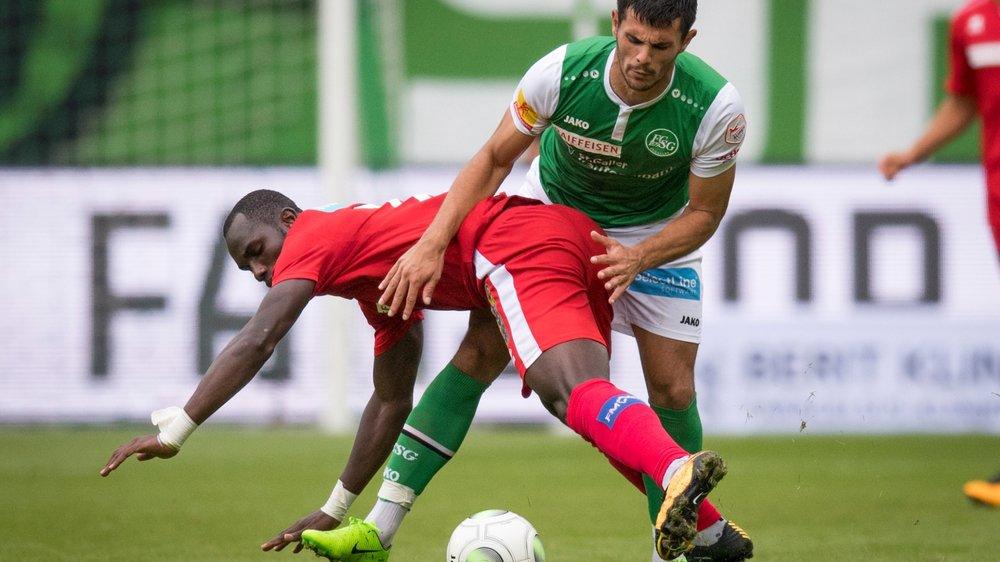 Moussa Konaté chute. Comme le FC Sion pour  la première fois de la saison en Super League.