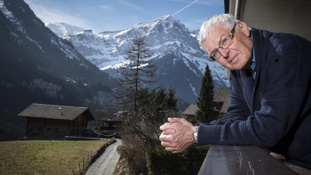 André Gossauer veut développer le dialogue avec les résidents à l'année de Champéry.