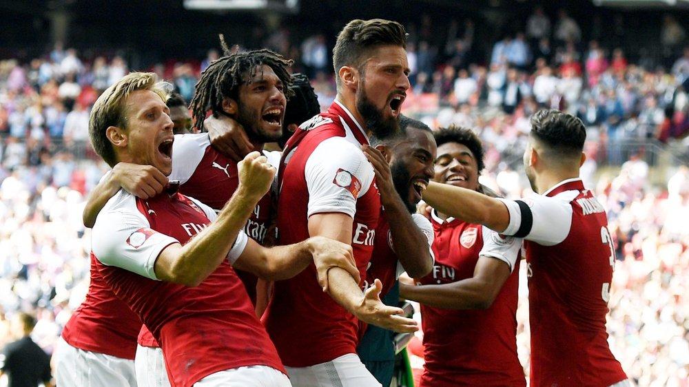 La joie des Gunners.