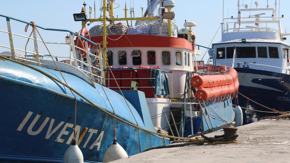 Le navire de l'ONG Jugend rettet est bloqué depuis la semaine dernière. Celui de MSF depuis samedi.