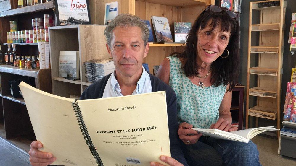 Claude Darbellay et Michèle Courvoisier sont les visages qui se cachent derrière la programmation du Toûno.