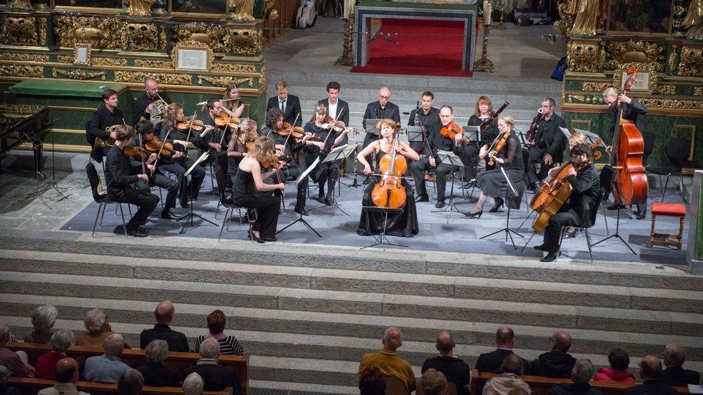 L'orchestre du festival d'Ernen se produira samedi à la Fondation Gianadda, à Martigny.