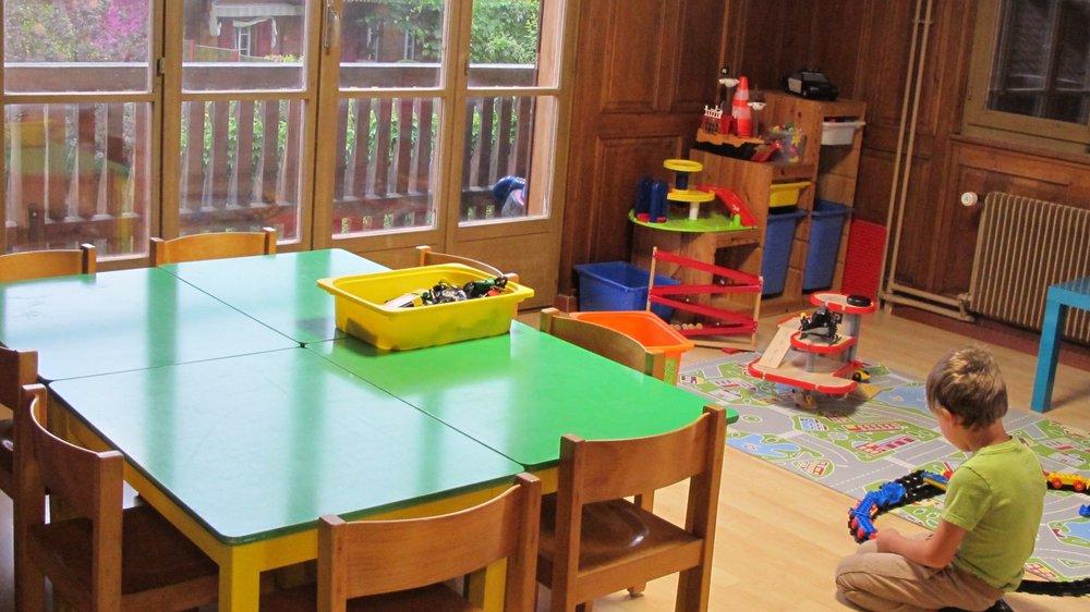 L'Ile aux enfants s'est installée dans de nouveaux locaux situés juste  à côté de l'école et de la salle de gym de Choëx.