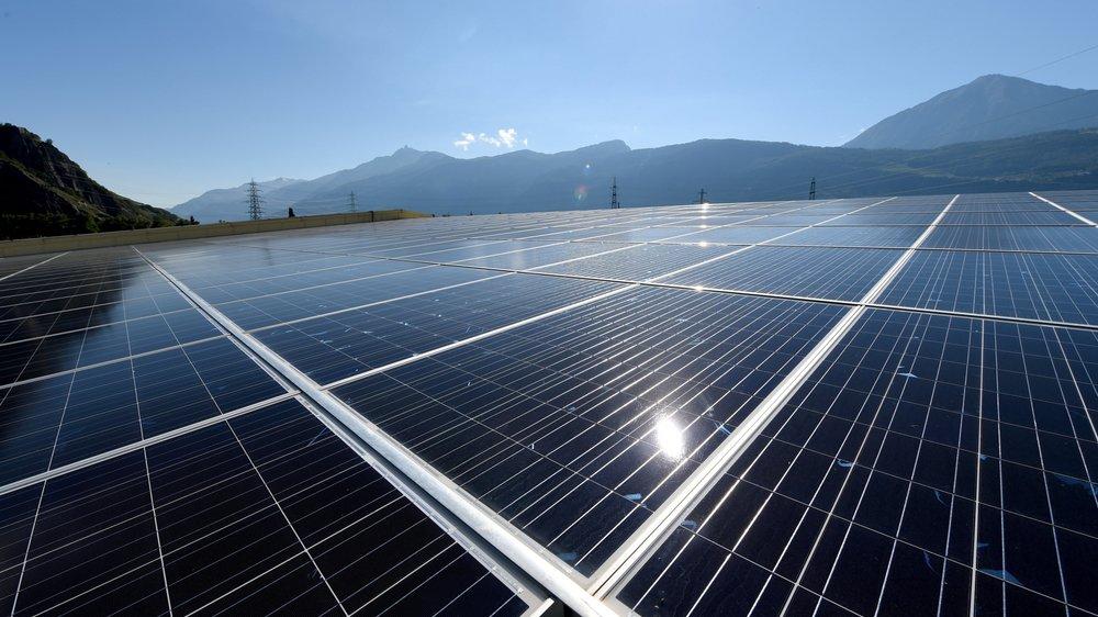 La production d'énergie solaire devrait tripler en Valais d'ici à 2020.