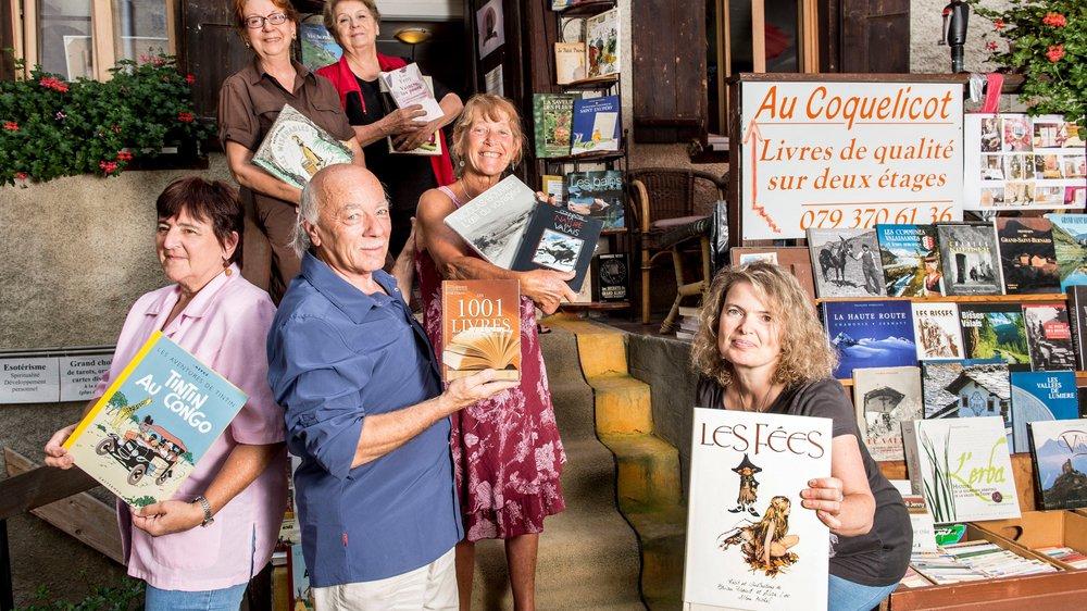 Les bouquinistes et libraires de Saint-Pierre-de-Clages croient en l'avenir du livre.