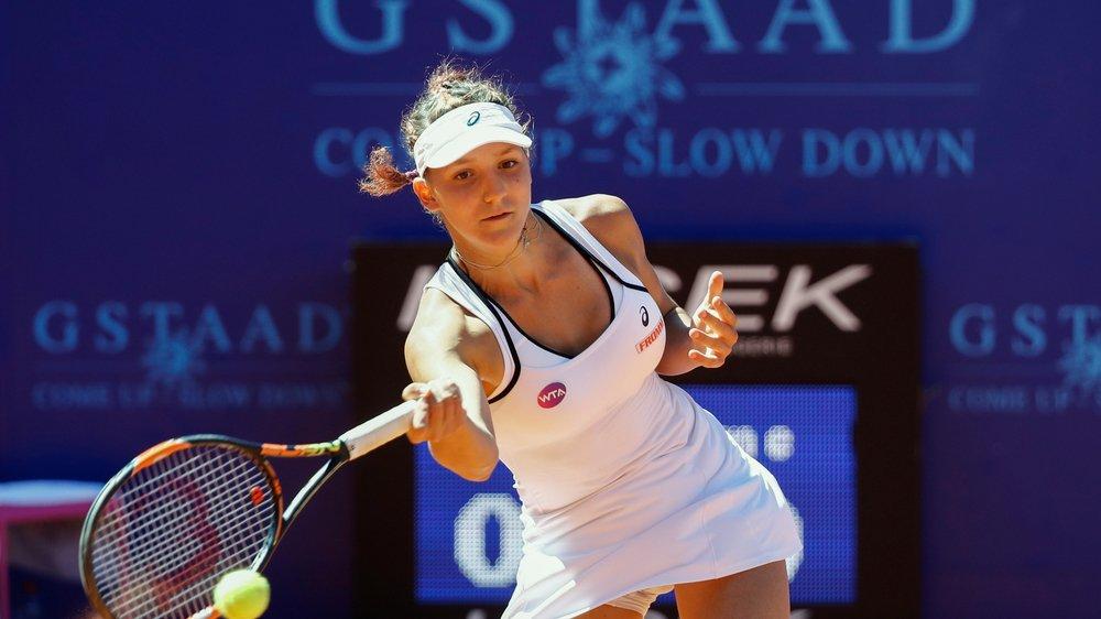 Présente à Sion, Rebeka Masarova s'était révélée à Gstaad, en 2016, en atteignant les demi-finales.