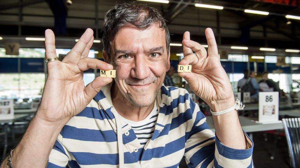 Christian Quesada, grand champion de l'émission Les 12 Coups de Midi est très connu dans le monde du scrabble.