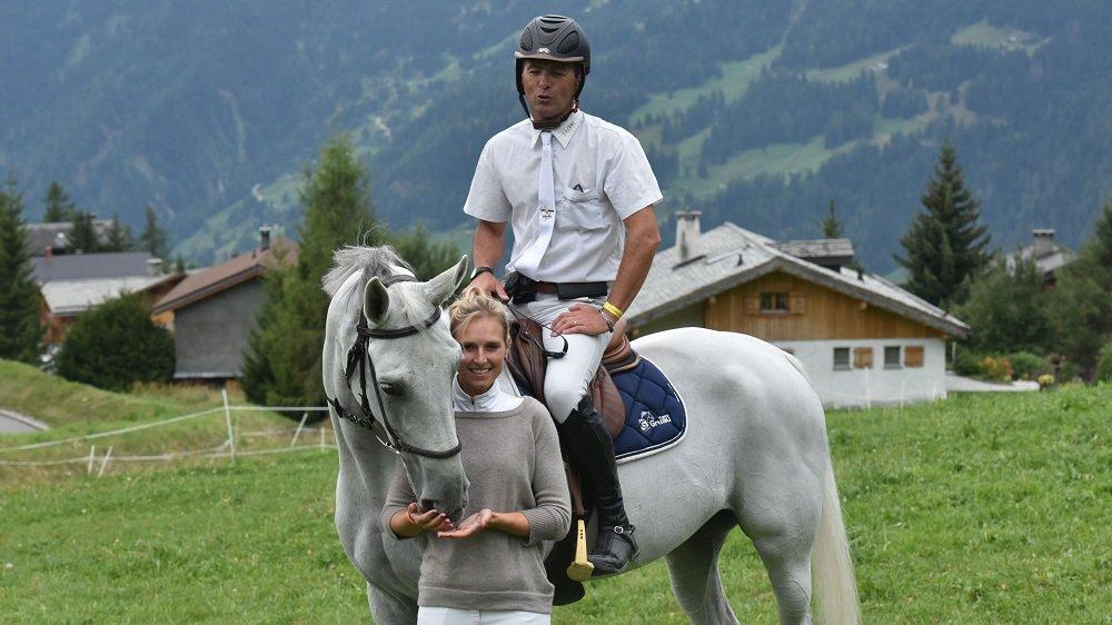 Si Audrey Geiser et Laurent Goffinet sont adversaires, hommes et femmes ne sont aucunement rivaux dans le milieu des sports équestres.