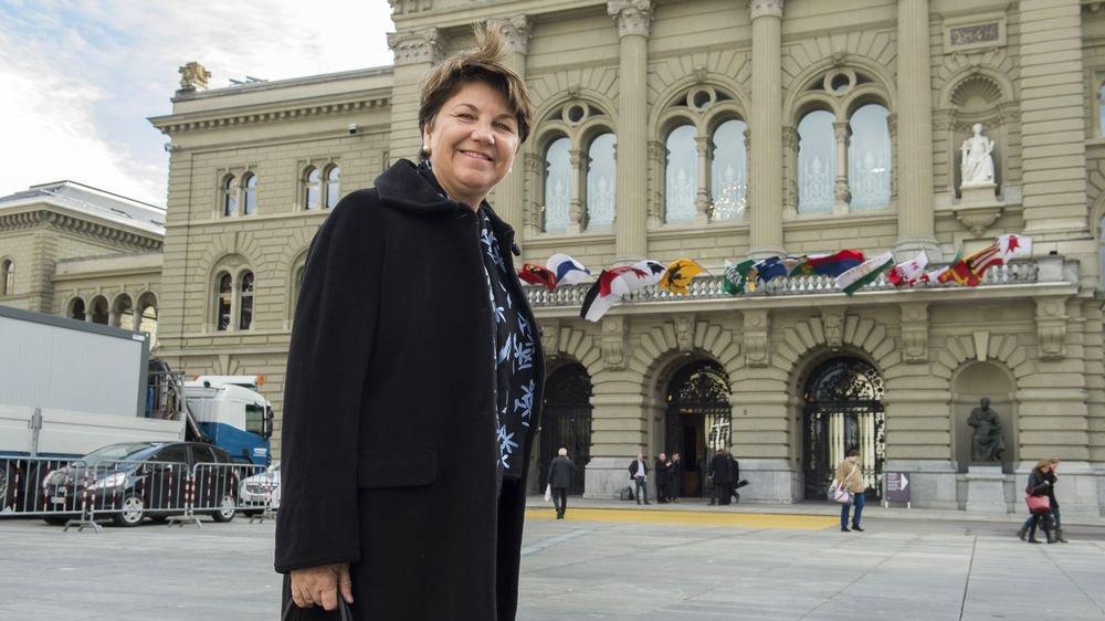 Viola Amherd, une Valaisanne qui compte à Berne.