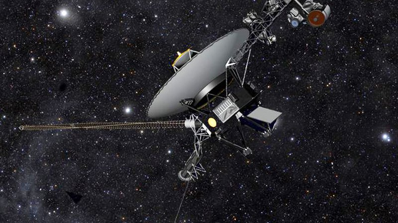 Voyager 1 avait été lancé le 5 septembre 1977.
