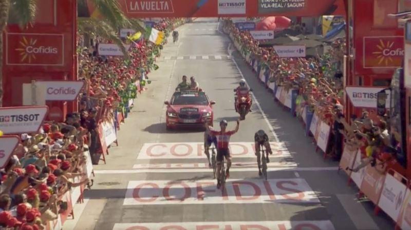Tour d'Espagne: le Polonais Tomasz Marczynski remporte la 6e étape de la Vuelta