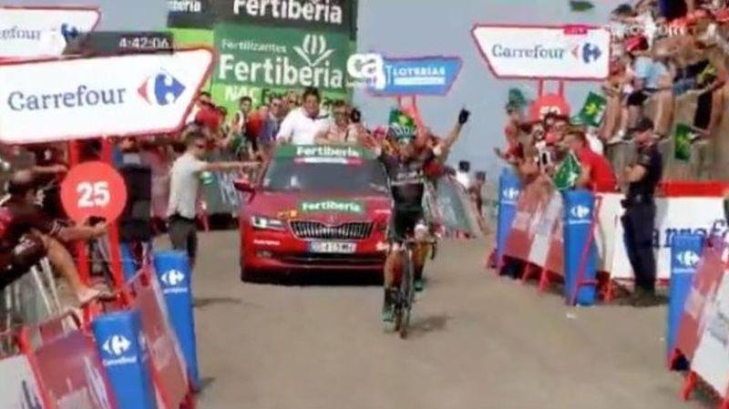 Tour d'Espagne: Rafal Majka remporte la 14e étape de la Vuelta, Froome toujours en rouge