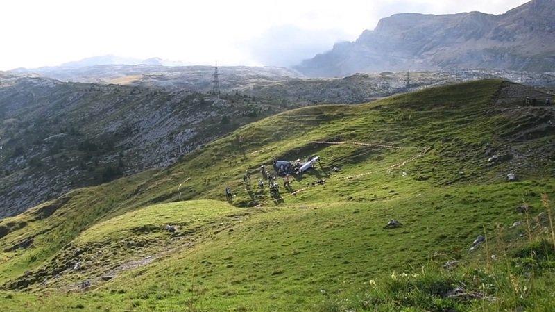 Col du Sanetsch: le crash d'un Piper fait trois victimes