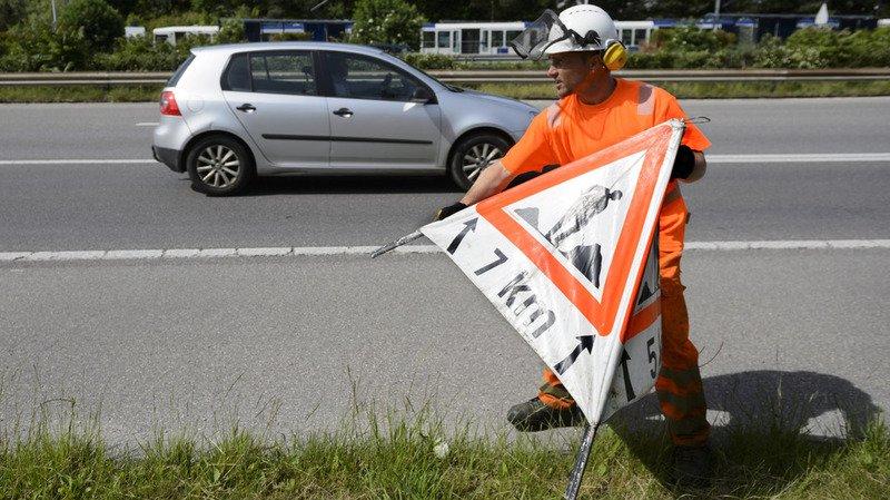 Les coûts d'entretien auront tendance à croître à cause du vieillissement des routes.