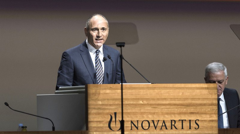 Pharma: Joseph Jimenez quittera Novartis au 1er février 2018
