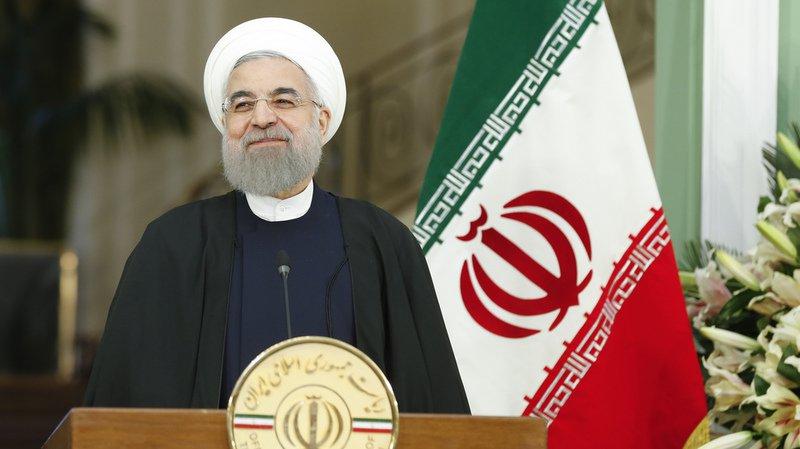 """Le président iranien, réélu en mai pour un second et dernier mandat de quatre ans, a affirmé que son homologue américain Donald Trump avait prouvé au monde qu'il n'était """"pas un bon partenaire""""."""