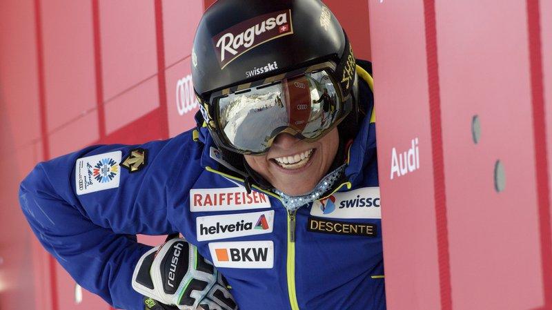 Ski alpin: Lara Gut remet les skis 6 mois après sa chute aux Mondiaux de St-Moritz
