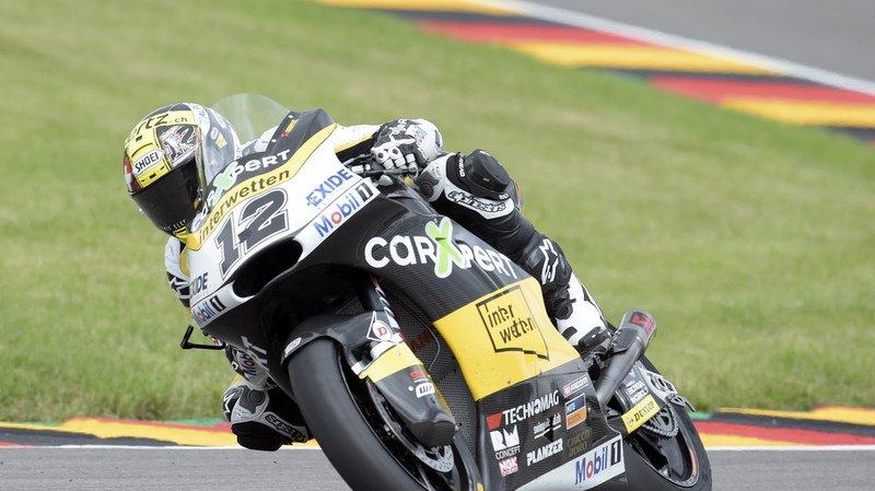 Motocyclisme: Thomas Lüthi remporte le GP de République tchèque Moto2 à Brno