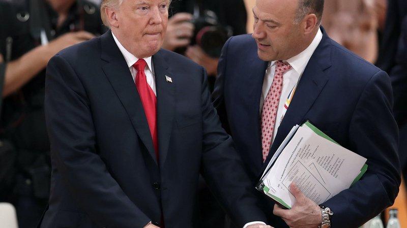 Trump n'a pas encore réagi aux propos de son conseiller économique.