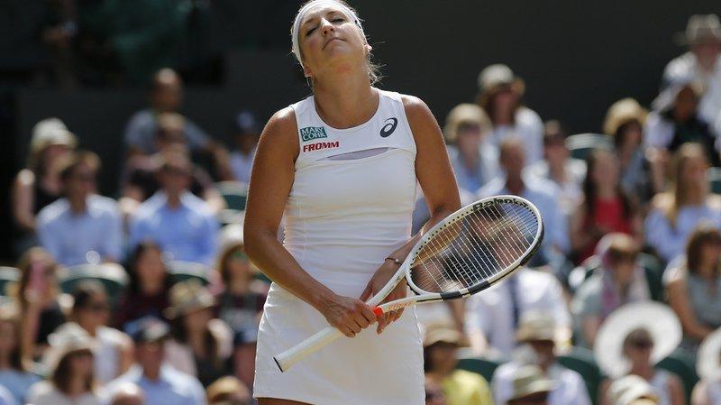 La Vaudoise n'a plus joué depuis son élimination au 3e tour du tournoi de Wimbledon.