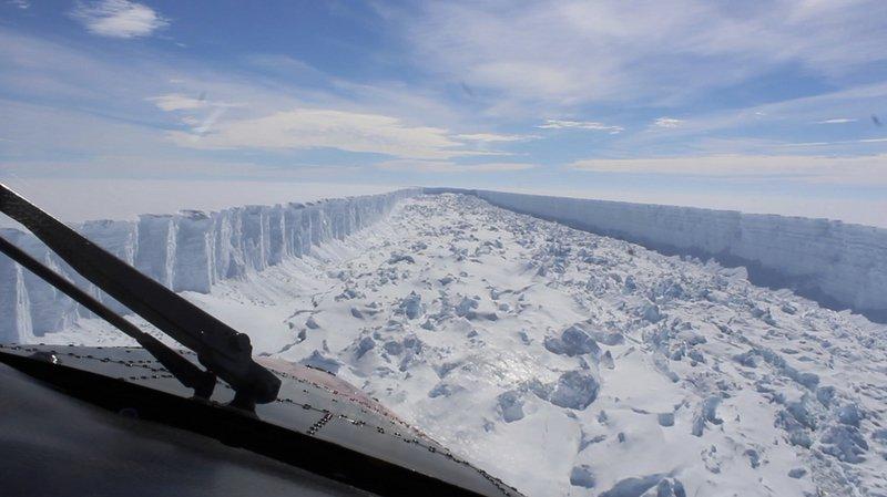 Antarctique: l'immense iceberg de la taille du canton de Berne n'a pas bougé