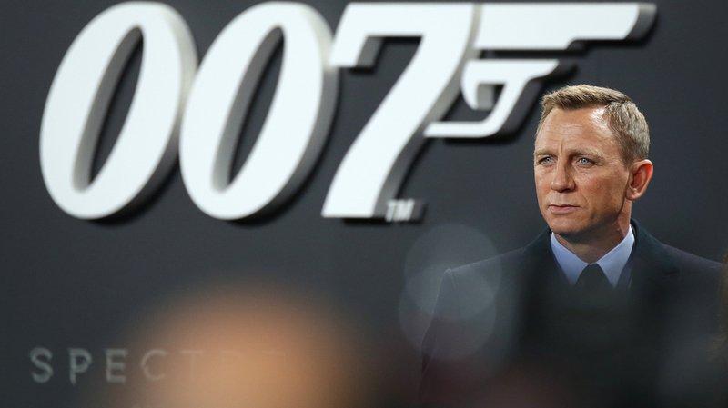 Cinéma: l'acteur britannique Daniel Craig incarnera James Bond une dernière fois