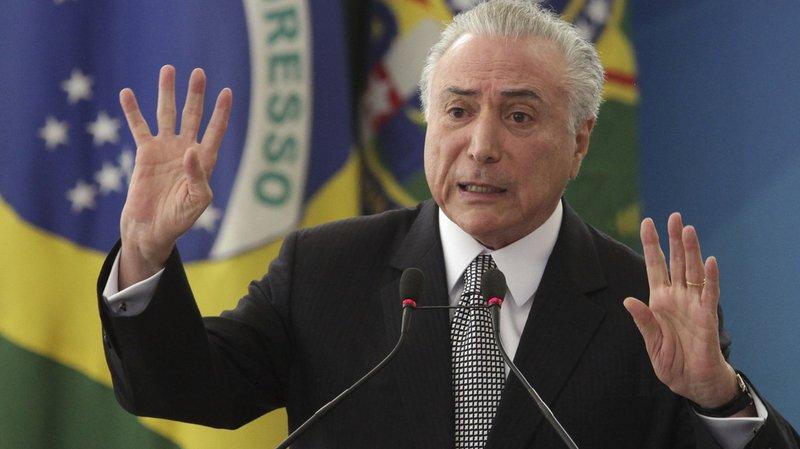 Brésil: le président Michel Temer ne sera pas poursuivi pour corruption