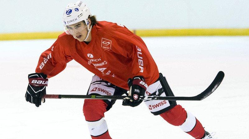 Nico Hischier pourrait se retrouver, à 18 ans, dans la première ligne des New Jersey Devils.