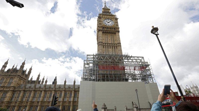 Les travaux concerneront à la fois le mécanisme de l'horloge et la tour de 96 mètres du palais de Westminster.